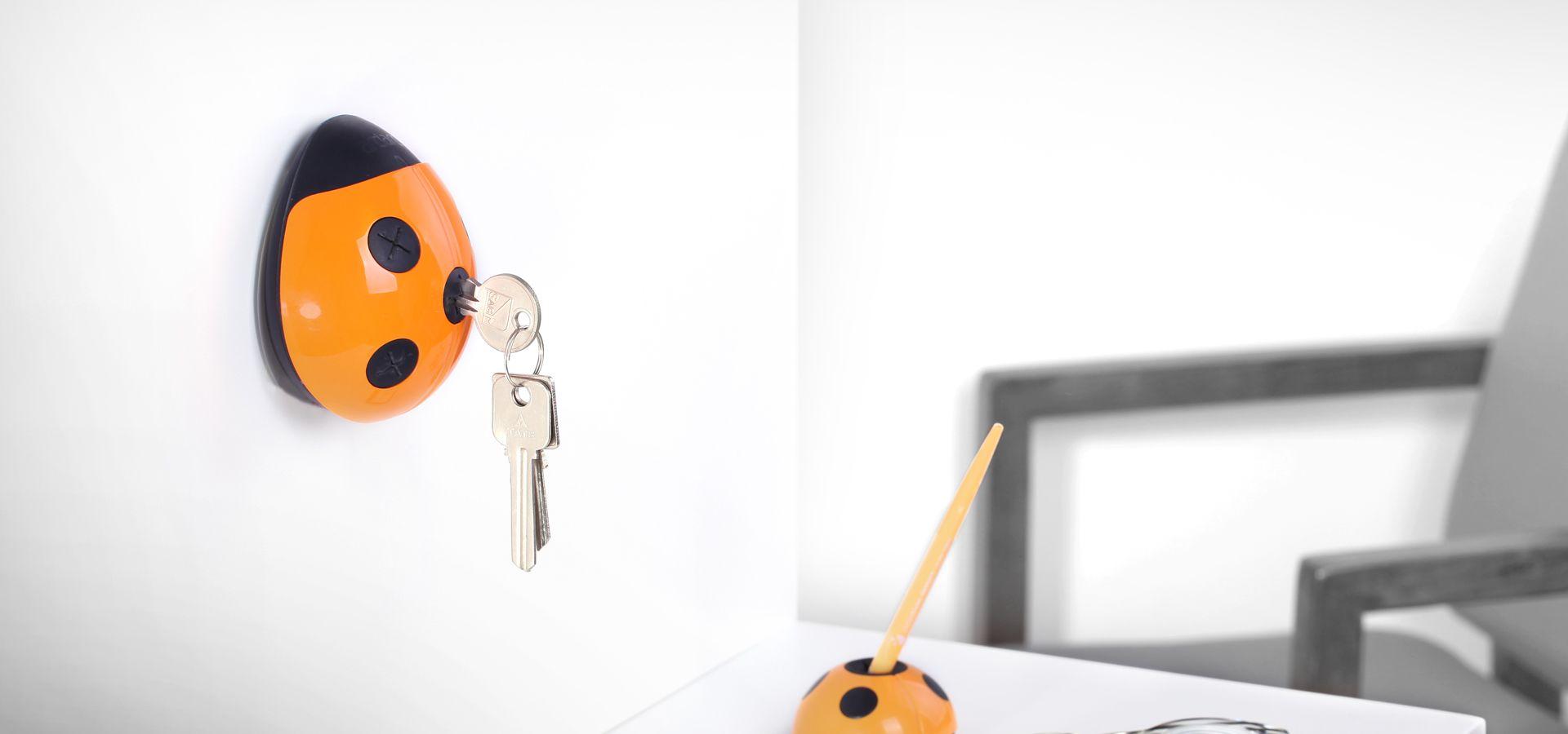 瓢虫钥匙插